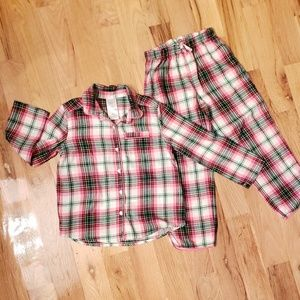 GAP Pendleton Girls Plaid Pajamas Set